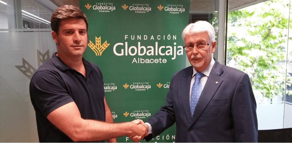 La Fundación Globalcaja acuerda con Albacer la promoción de las Escuelas Infantiles de Fútbol