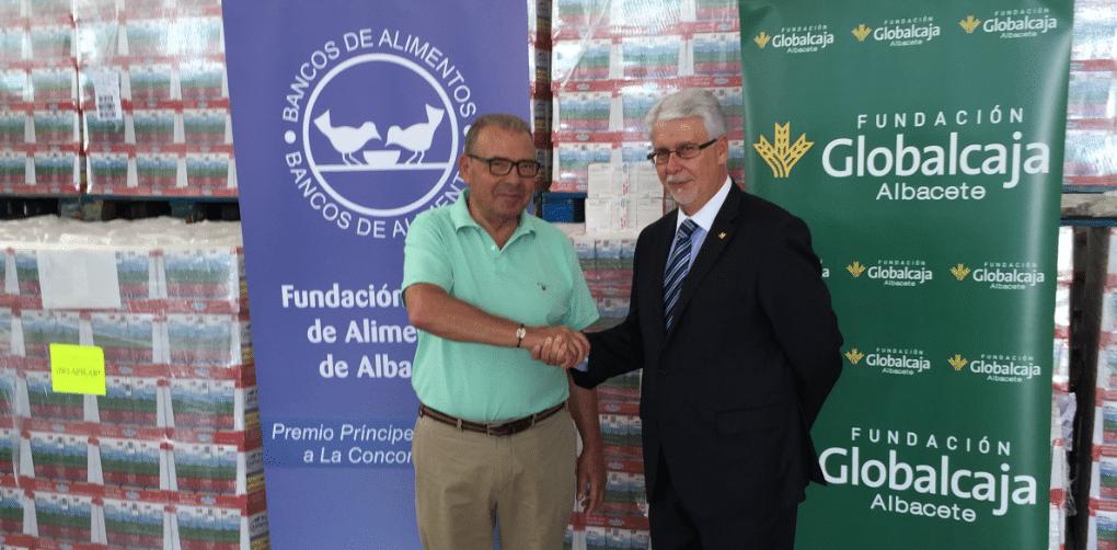 Globalcaja cede instalaciones al banco de alimentos de Albacete