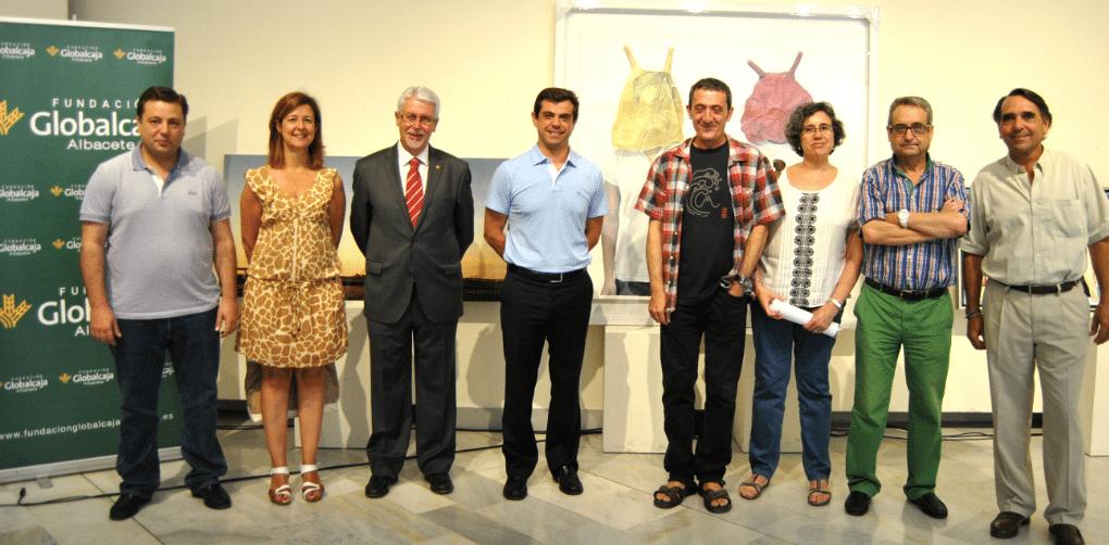 La Fundación Globalcaja Albacete apoya un año más el certamen de artes plásticas de la ciudad