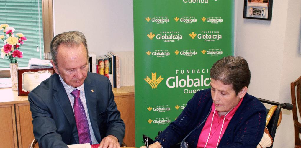 La Fundación Globalcaja Cuenca 'se moja' por la esclerosis múltiple