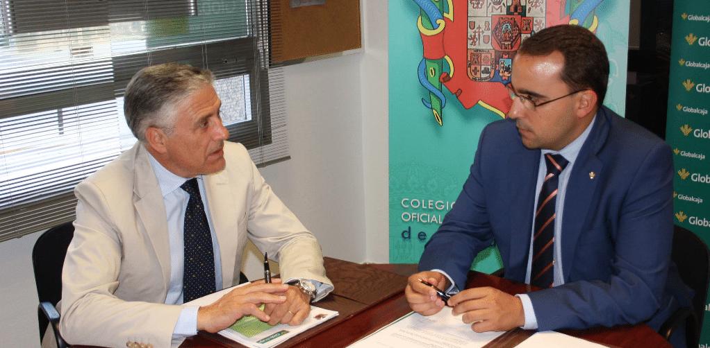 El Colegio de Médicos de Ciudad Real y Globalcaja renuevan su convenio de colaboración