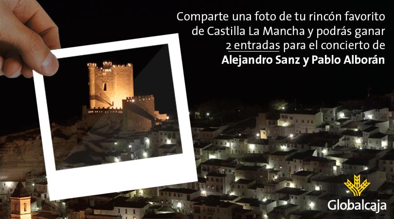 Cada semana, regalamos 6 entradas dobles para ver a Alejandro Sanz y Pablo Alborán en concierto