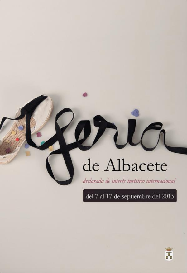 Cartel de la Feria de Albacete 2015
