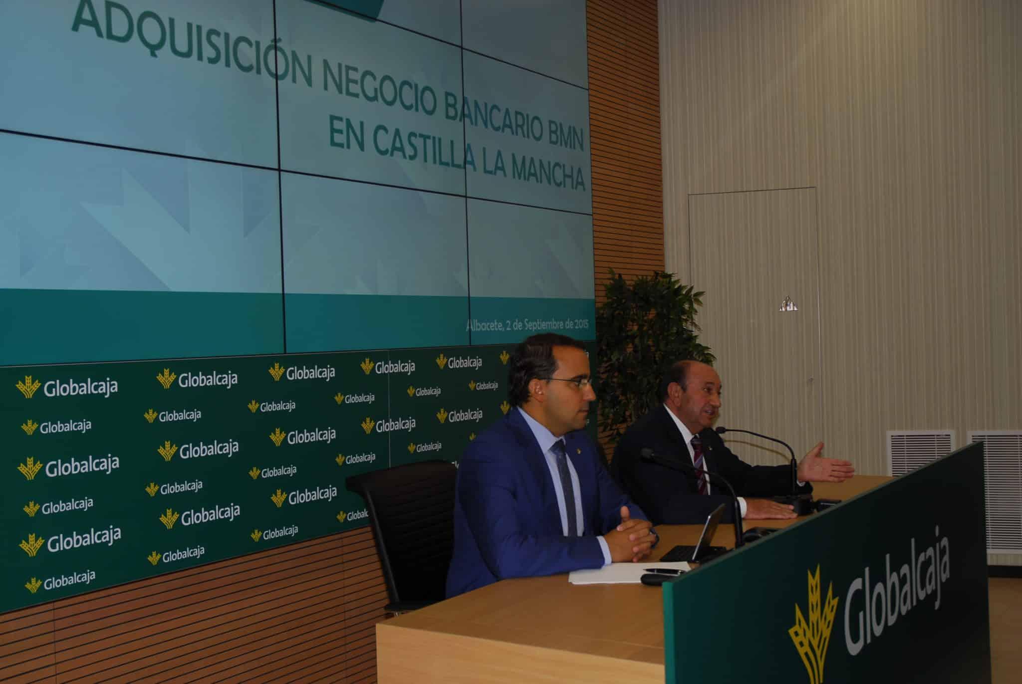 Los servicios de Globalcaja llegarán a 30.000 nuevos clientes de Castilla La Mancha