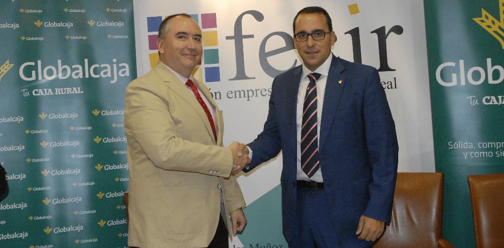 Globalcaja y Fecir firman un convenio que da respuesta al sector empresarial de Ciudad Real
