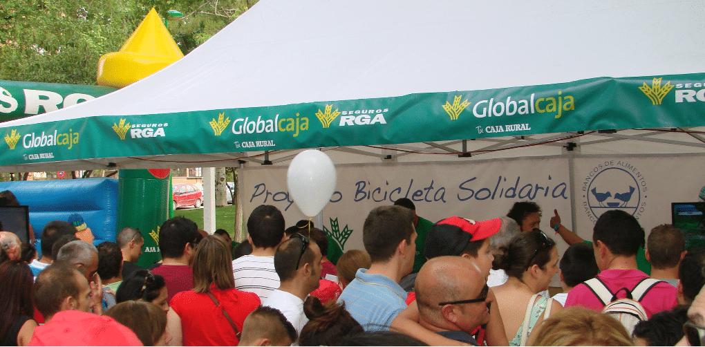 'Iniciativa Solidaria' de Globalcaja en el Banco de Alimentos