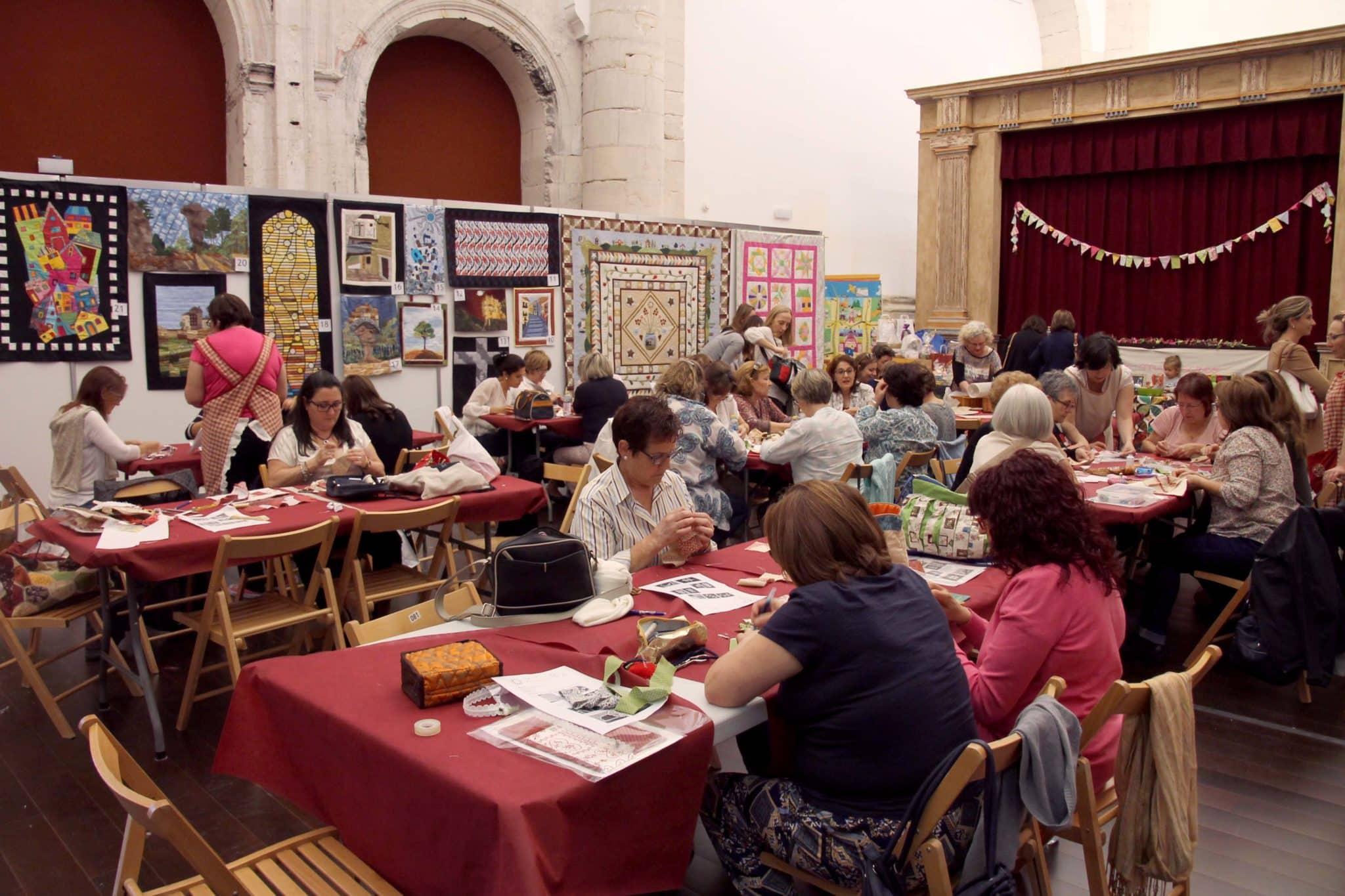 Éxito del I Concurso-Exposición-Taller de Patchwork 'Cuenca Encantada'
