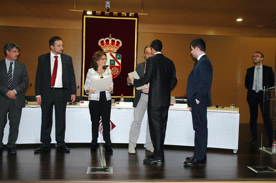 Globalcaja, reconocida en el Máster de Entidades de Crédito de la UCLM