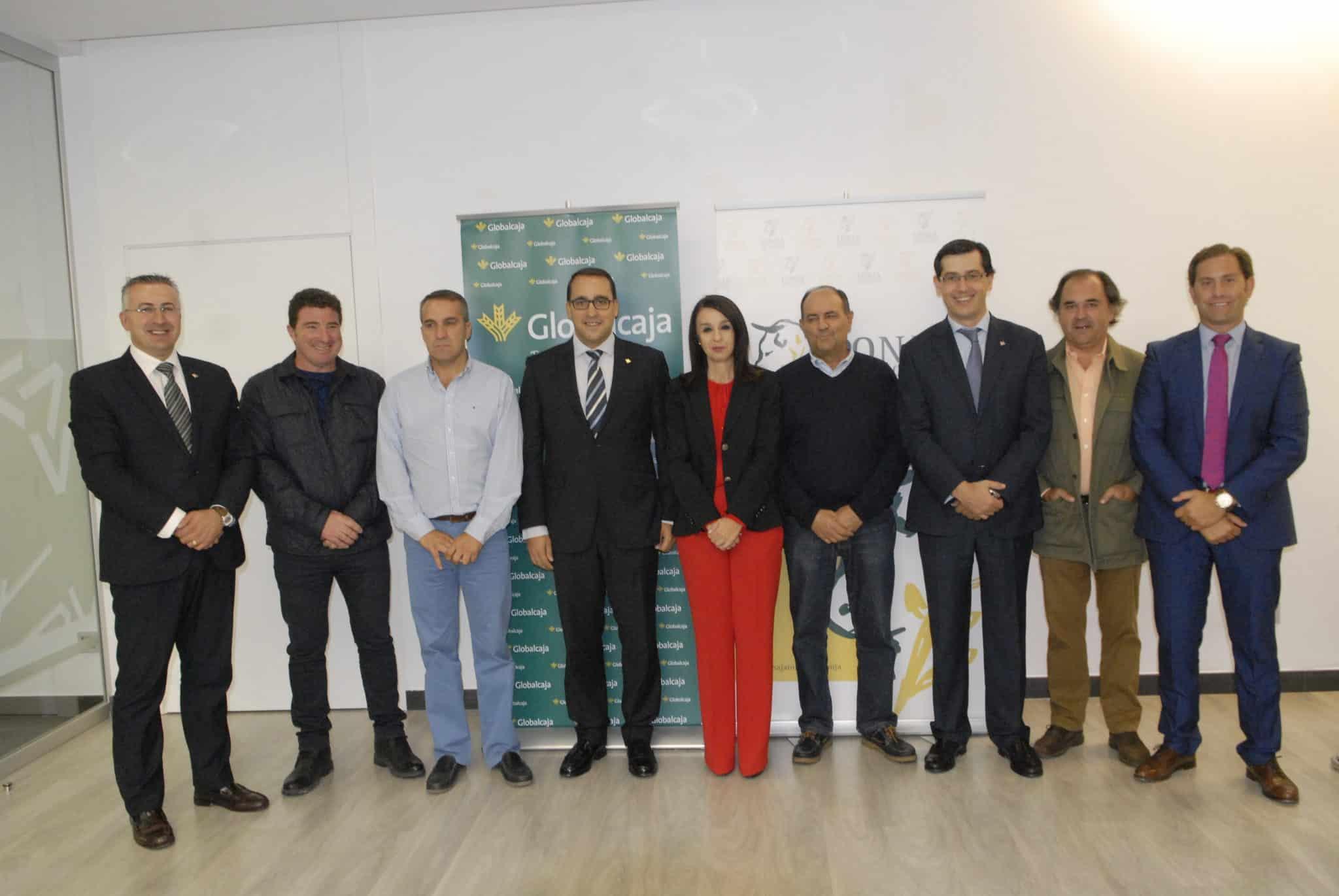 Globalcaja y la Lonja Agropecuaria de Toledo sellan un convenio de colaboración