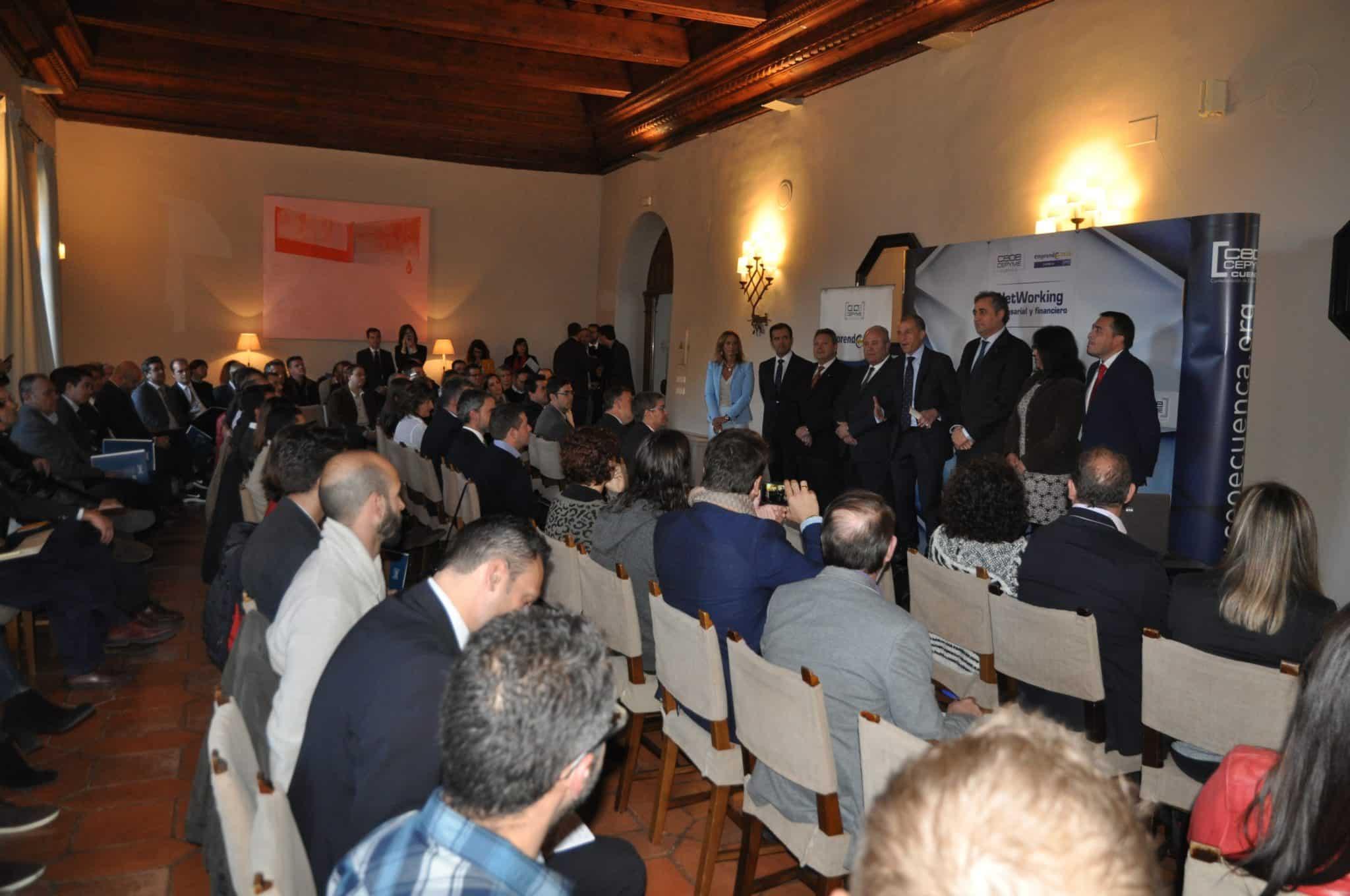 Globalcaja, con el mundo de la empresa conquense, en el Networking de CEOE-CEPYME Cuenca