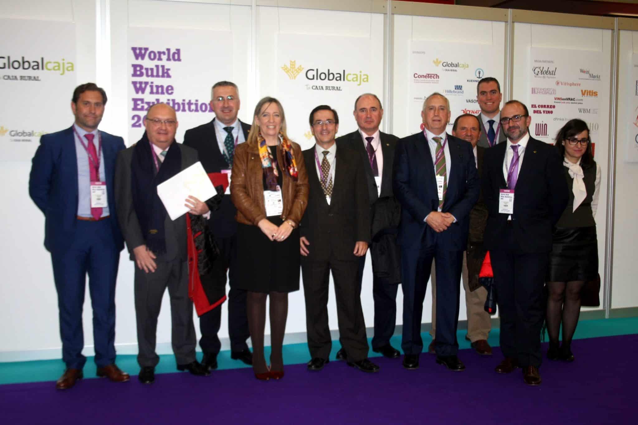 El vino de Castilla La Mancha, en la 'primera división' mundial de caldos en la World Bulk Wine Exhibition