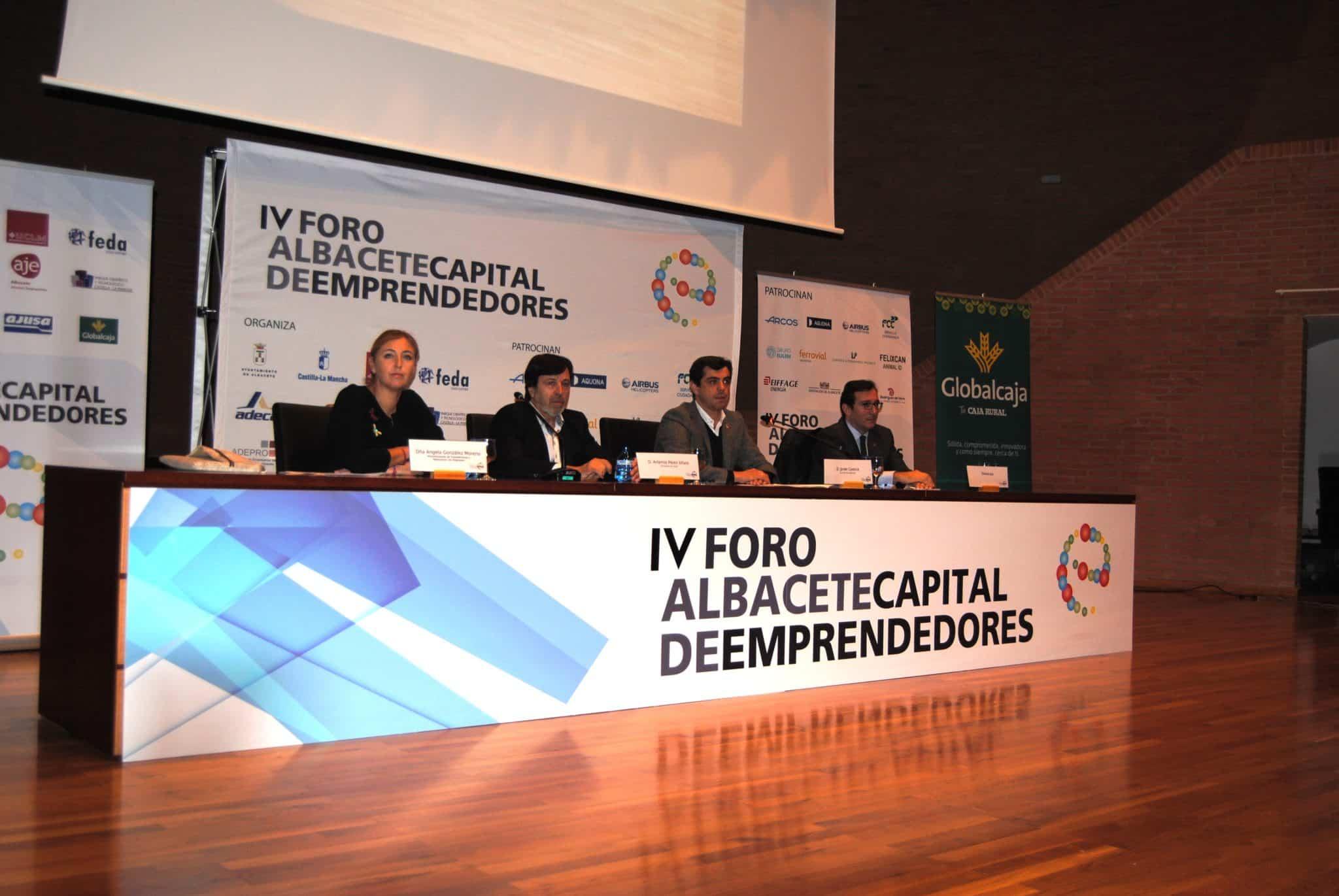 Globalcaja en el IV Foro 'Albacete capital de emprendedores'