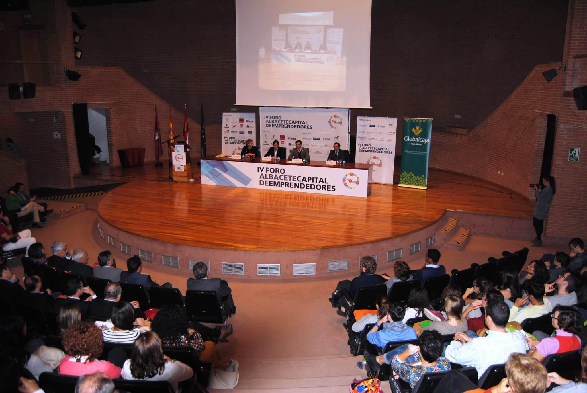 Inauguracion IV Foro 'Albacete, capital de emprendedores'.5-11-15