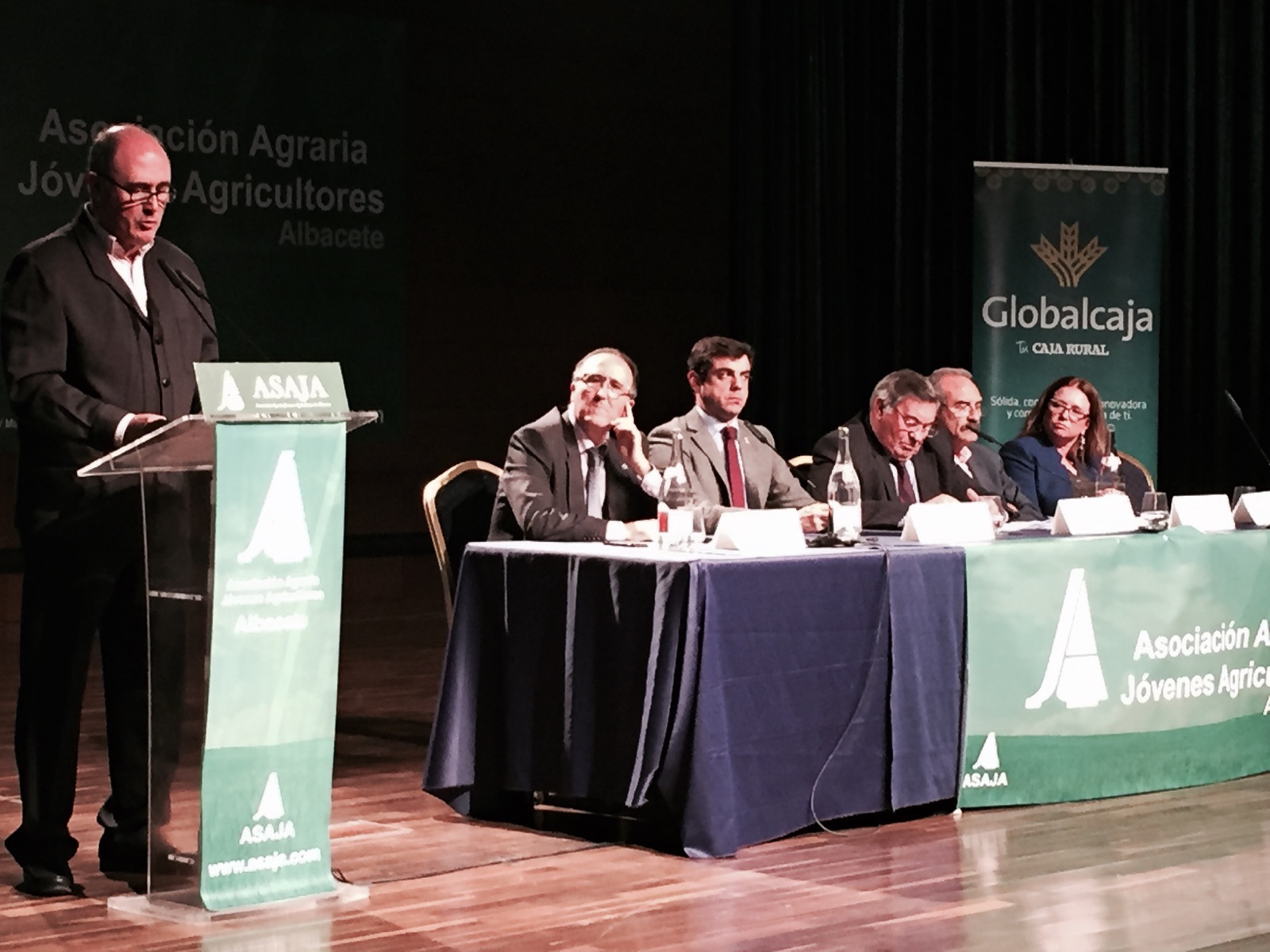 Globalcaja, con Asaja Albacete