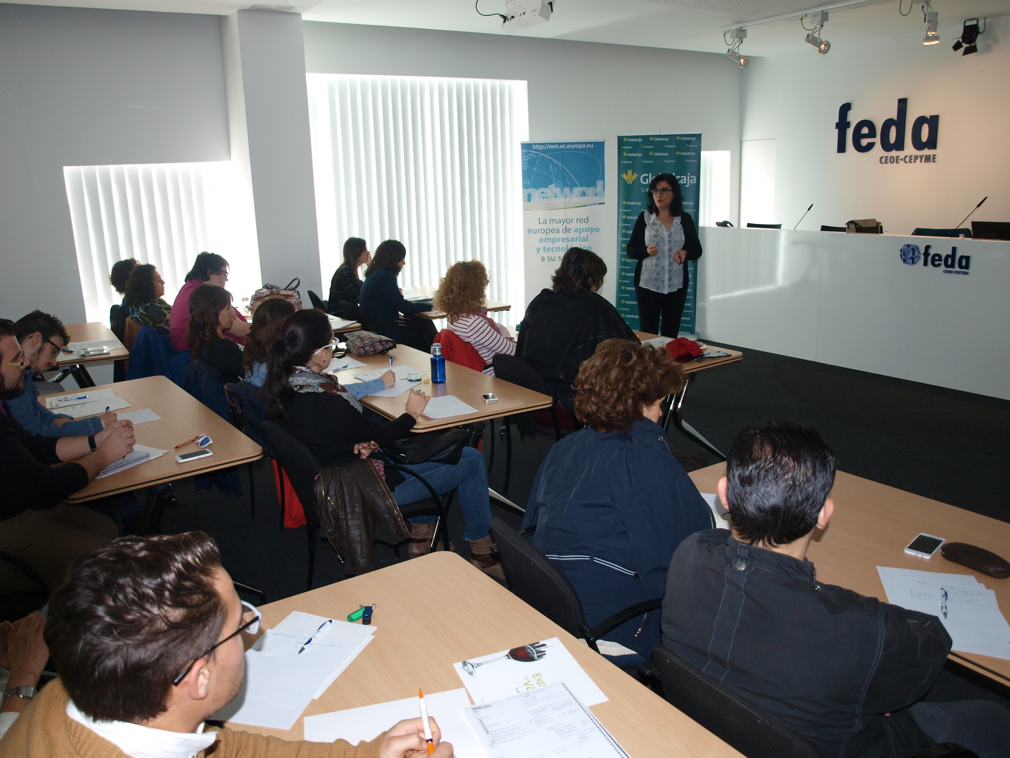 """Globalcaja """"exporta su valor"""" y su apuesta por la internacionalización en las Jornadas de FEDA"""