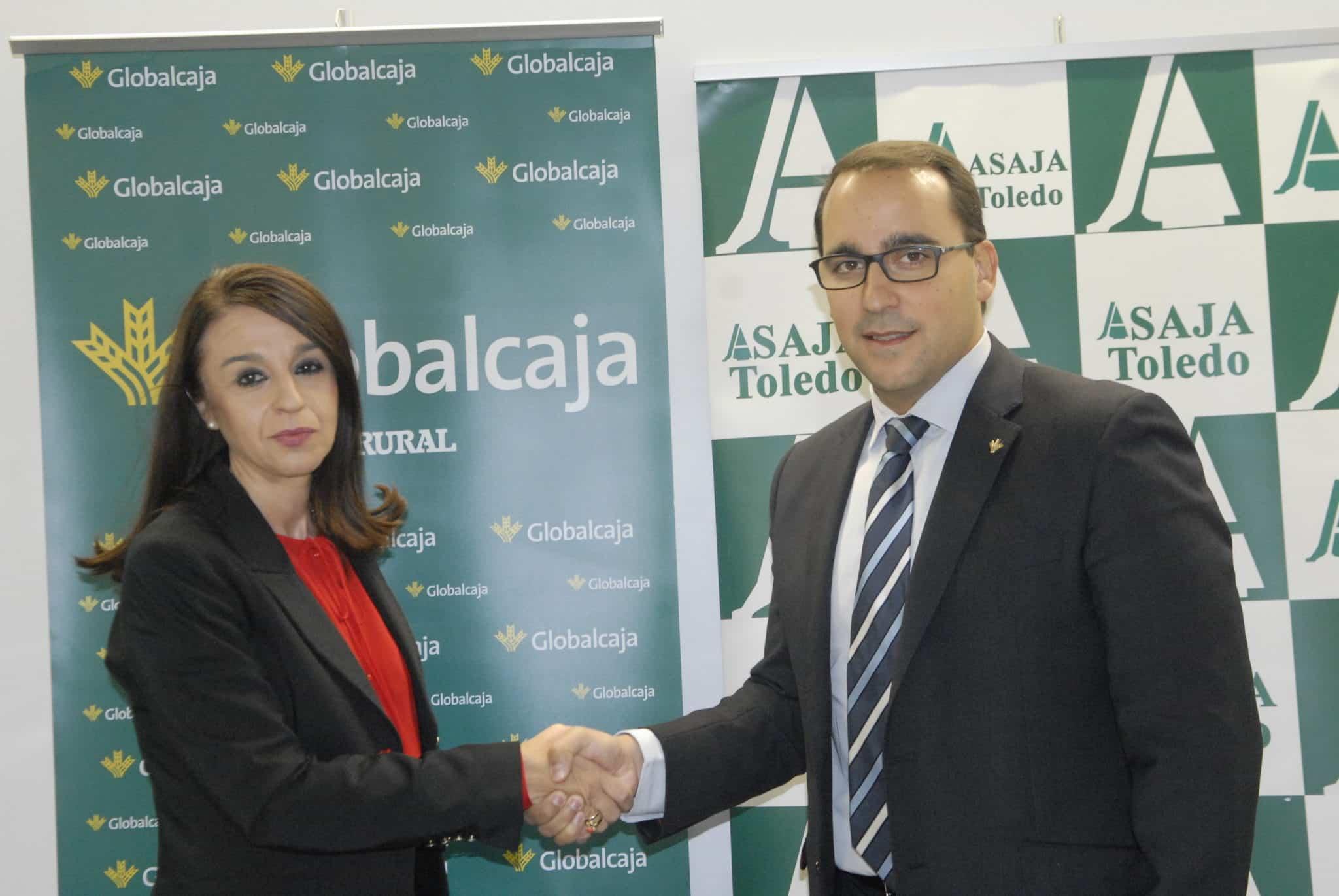 Globalcaja y Asaja Toledo acuerdan una línea de financiación para apoyar al sector agrario