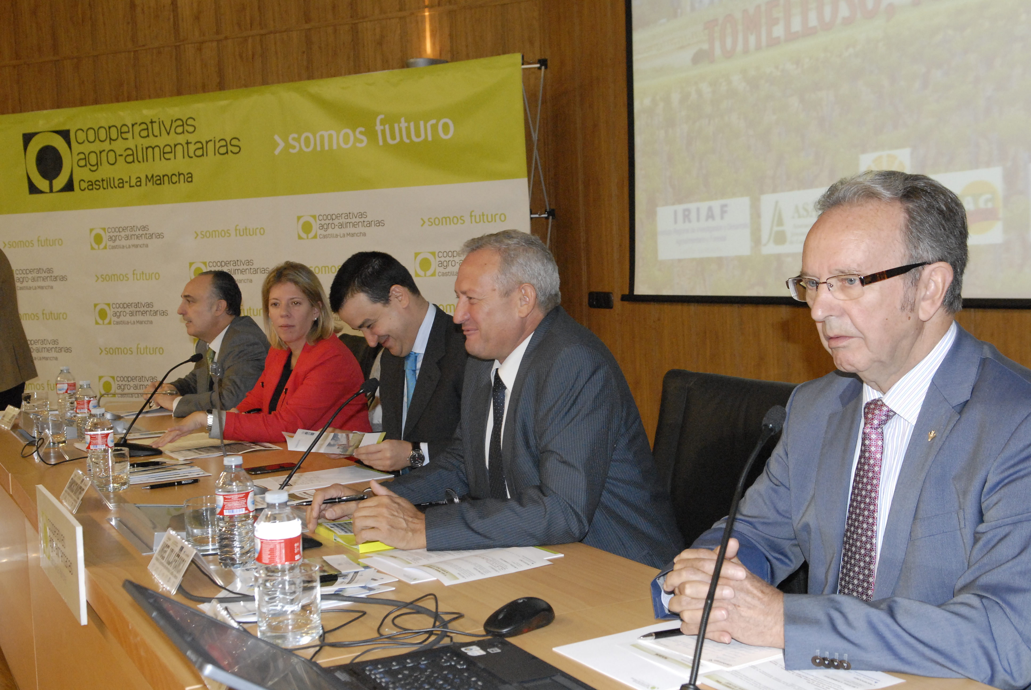 """Globalcaja, en la inauguración de la jornada """"El nuevo programa de desarrollo rural"""""""