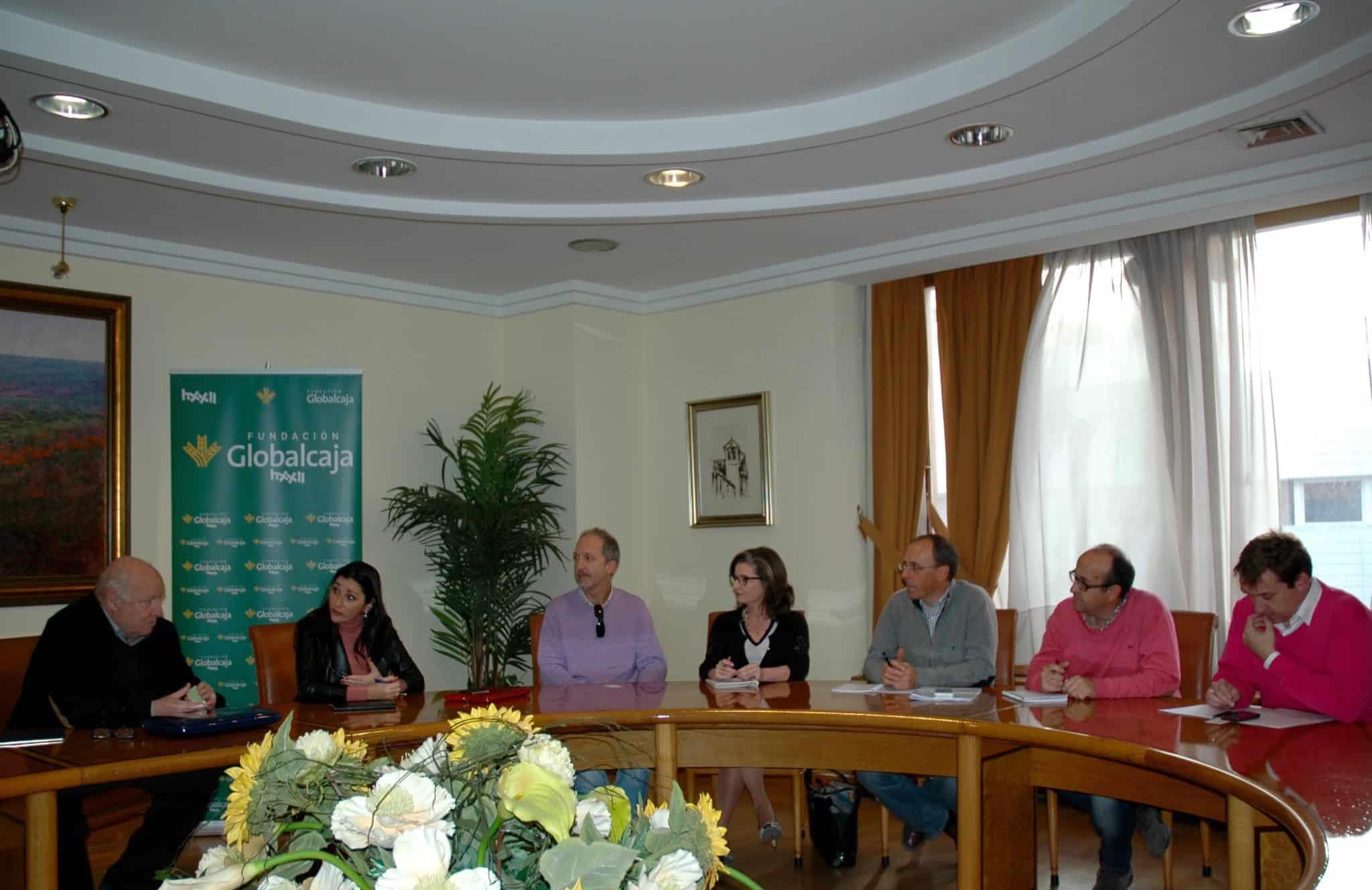 Globalcaja Horizonte XXII y los Grupos de Desarrollo Rural estudian vías de colaboración