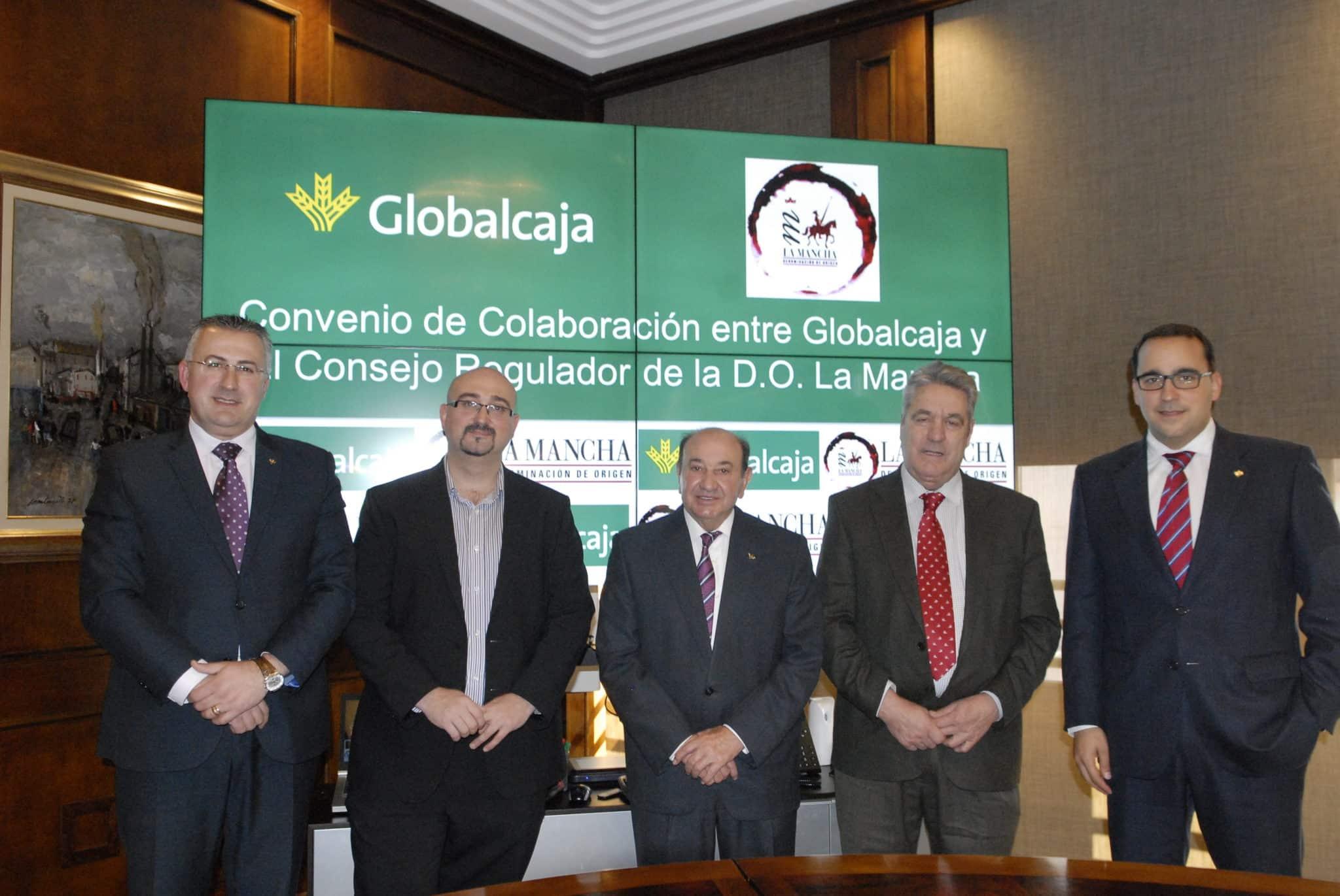 Globalcaja apoya la promoción del vino a través del convenio con la DO La Mancha