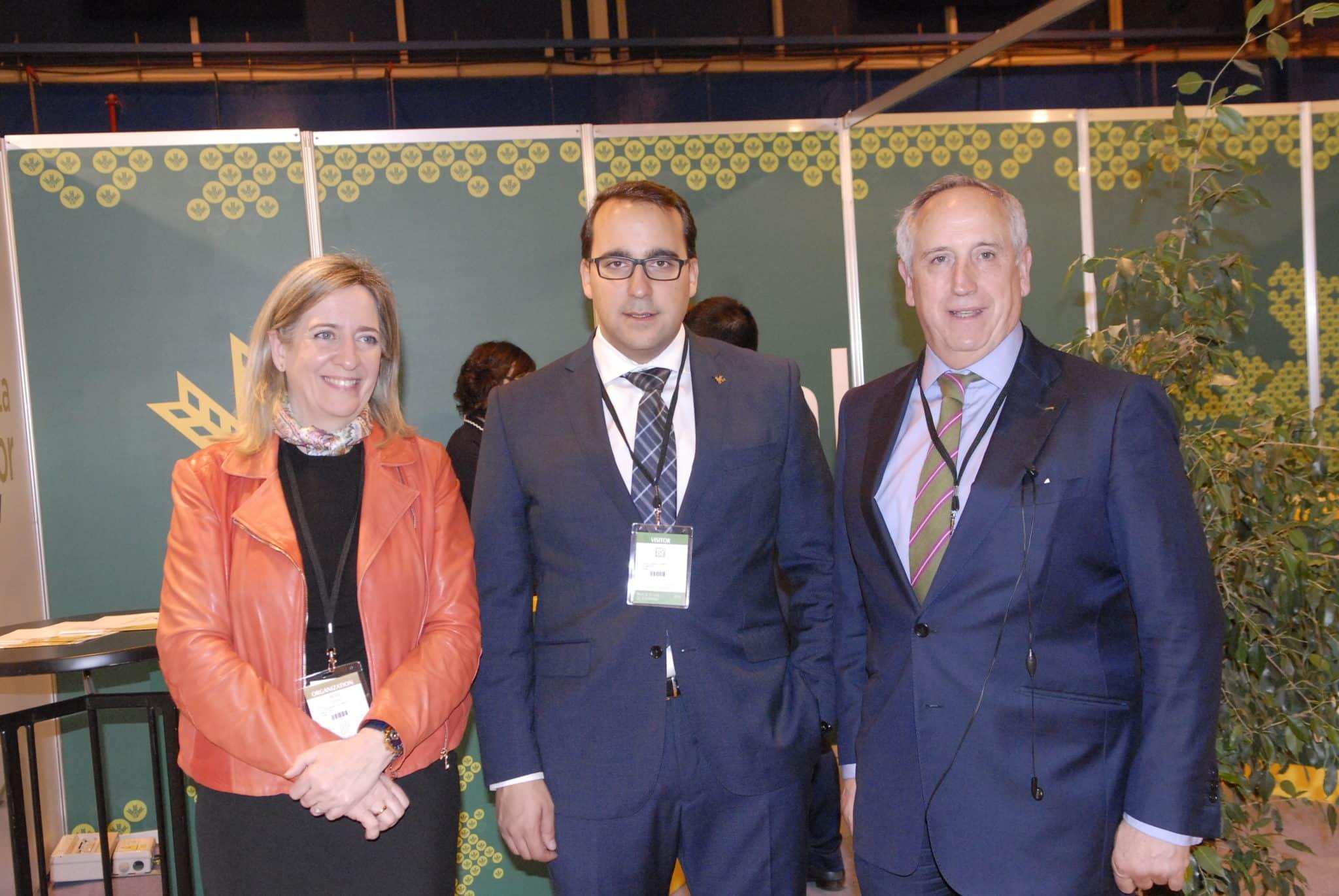Pedro Palacios destaca el peso específico del aceite de oliva en Castilla-La Mancha