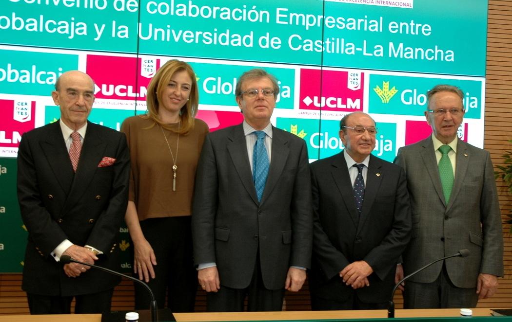 La UCLM y Globalcaja crean la Cátedra de Desarrollo Regional
