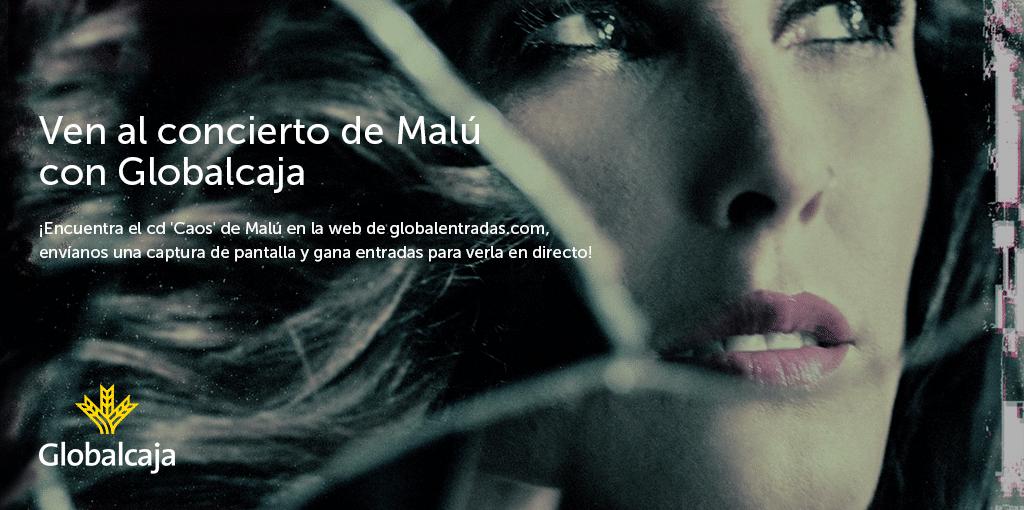 Encuentra el CD de Malú en nuestra web y consigue entradas para verla en Albacete