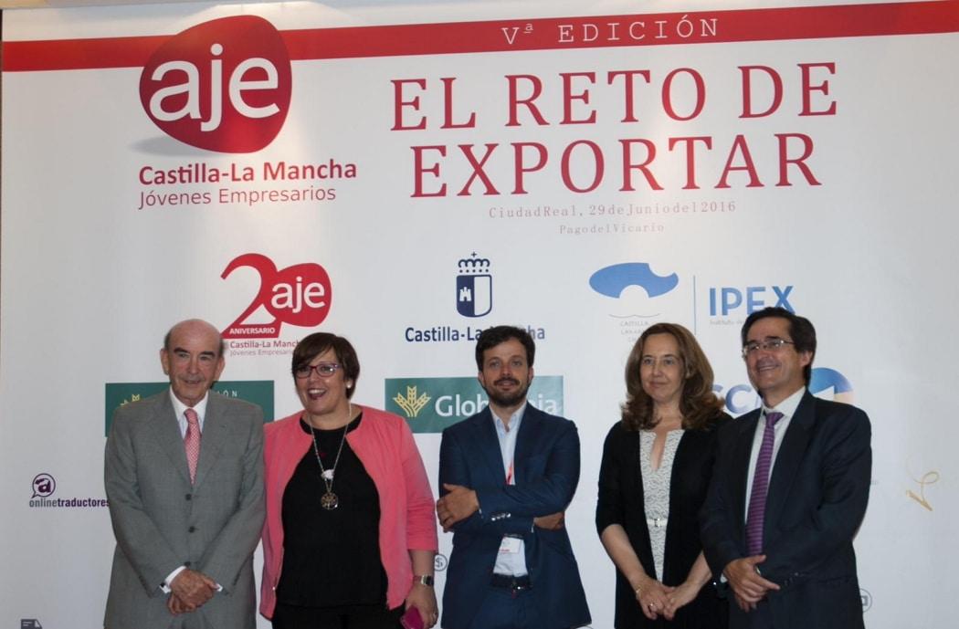 Globalcaja, en el 20 Aniversario de AJE CLM