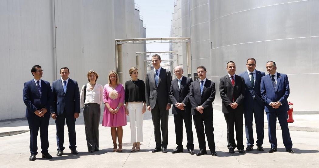 Castilla-La Mancha recibe la visita de los Reyes