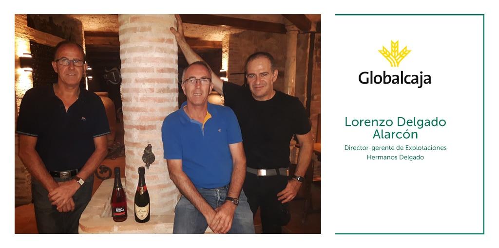 """Lorenzo Delgado Alarcón, director-gerente de EHD: """"Nuestro padre, Lorenzo Delgado Jiménez, nos enseñó a trabajar las viñas y a sentir el amor por la tierra"""""""