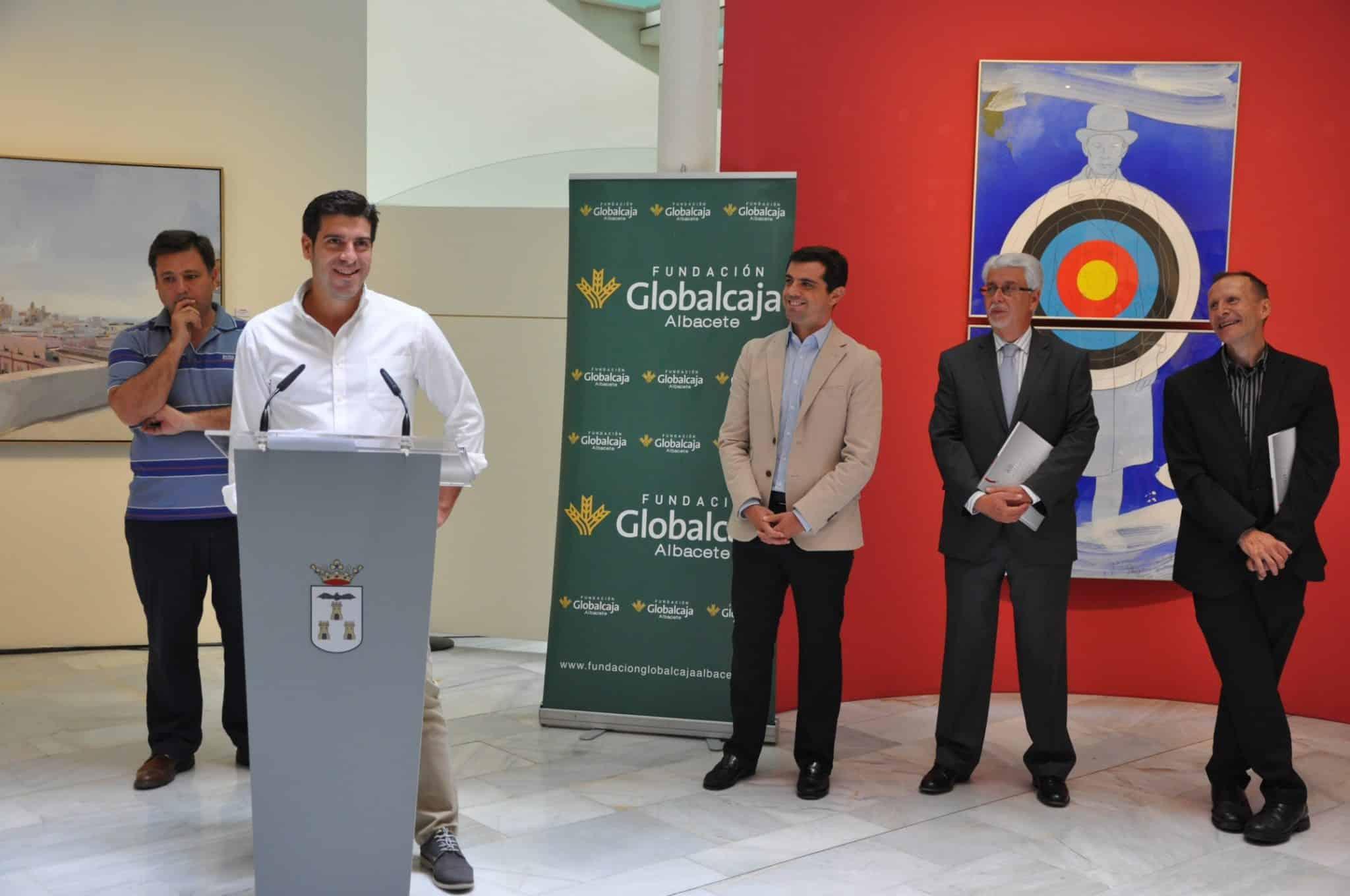 La Fundación Globalcaja Albacete, presente en la XII Bienal de Pintura