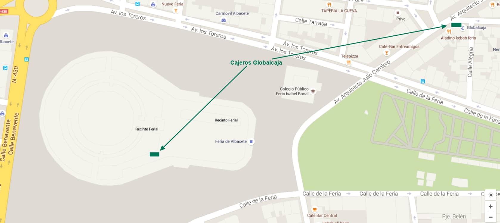 Mapa Feria Globalcaja Blog