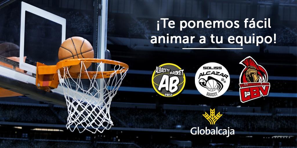 Aficiónate al basket con Globalcaja
