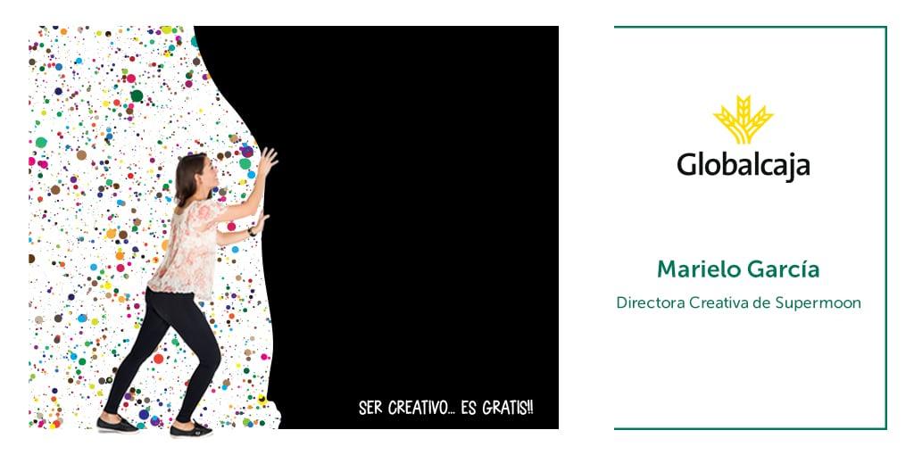 """Marielo García, Directora Creativa de Supermoon: """"La educación y las empresas deben de tener más creativos para adaptarse a los cambios que la sociedad nos presenta""""."""