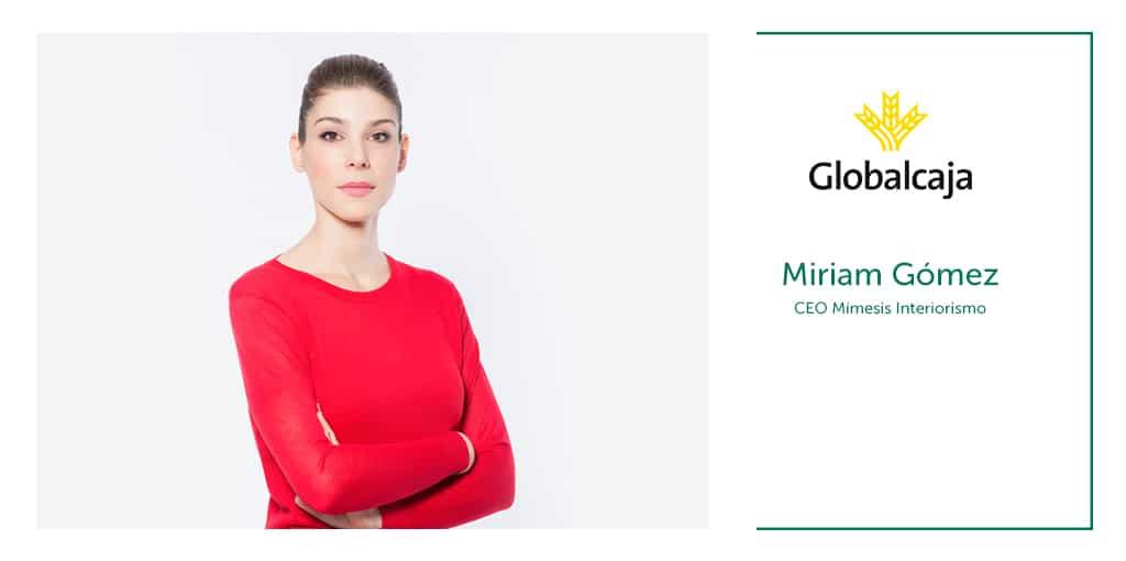 """Entrevista Miriam Gómez Peralta, CEO de Mímesis Interiorismo: """"Nuestra forma de hacer las cosas gusta"""""""