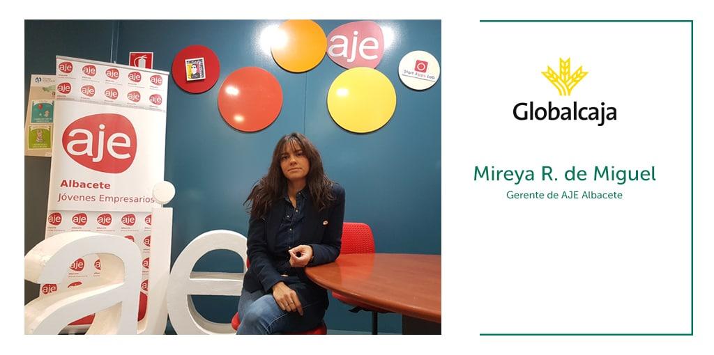 """Mireya R. de Miguel, gerente de Aje Albacete: """"El Afterwork es una forma de hacer negocios de manera diferente"""""""