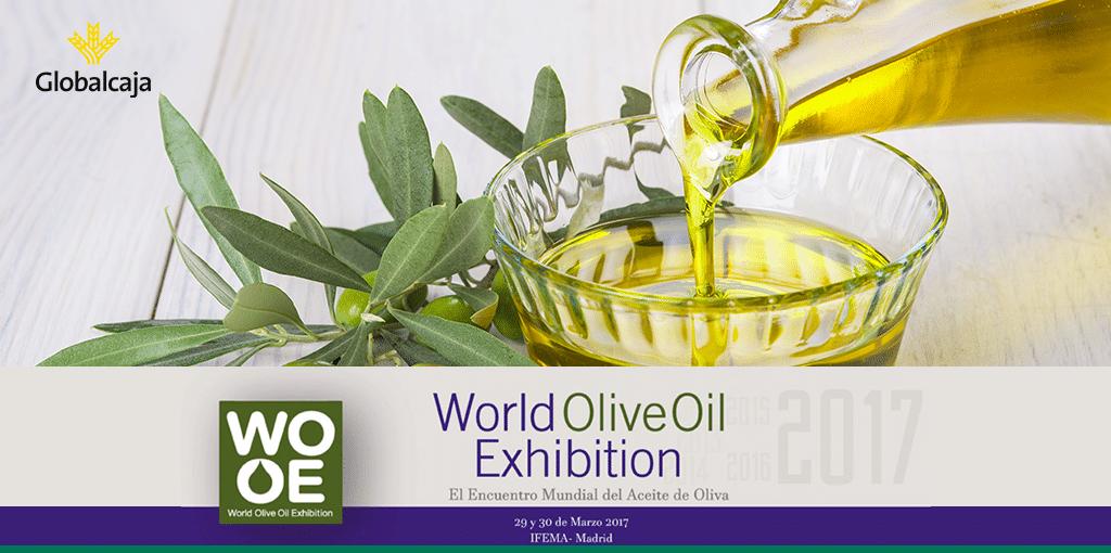 Apoyo de Globalcaja al sector del aceite de oliva en la inauguración de la WOOE