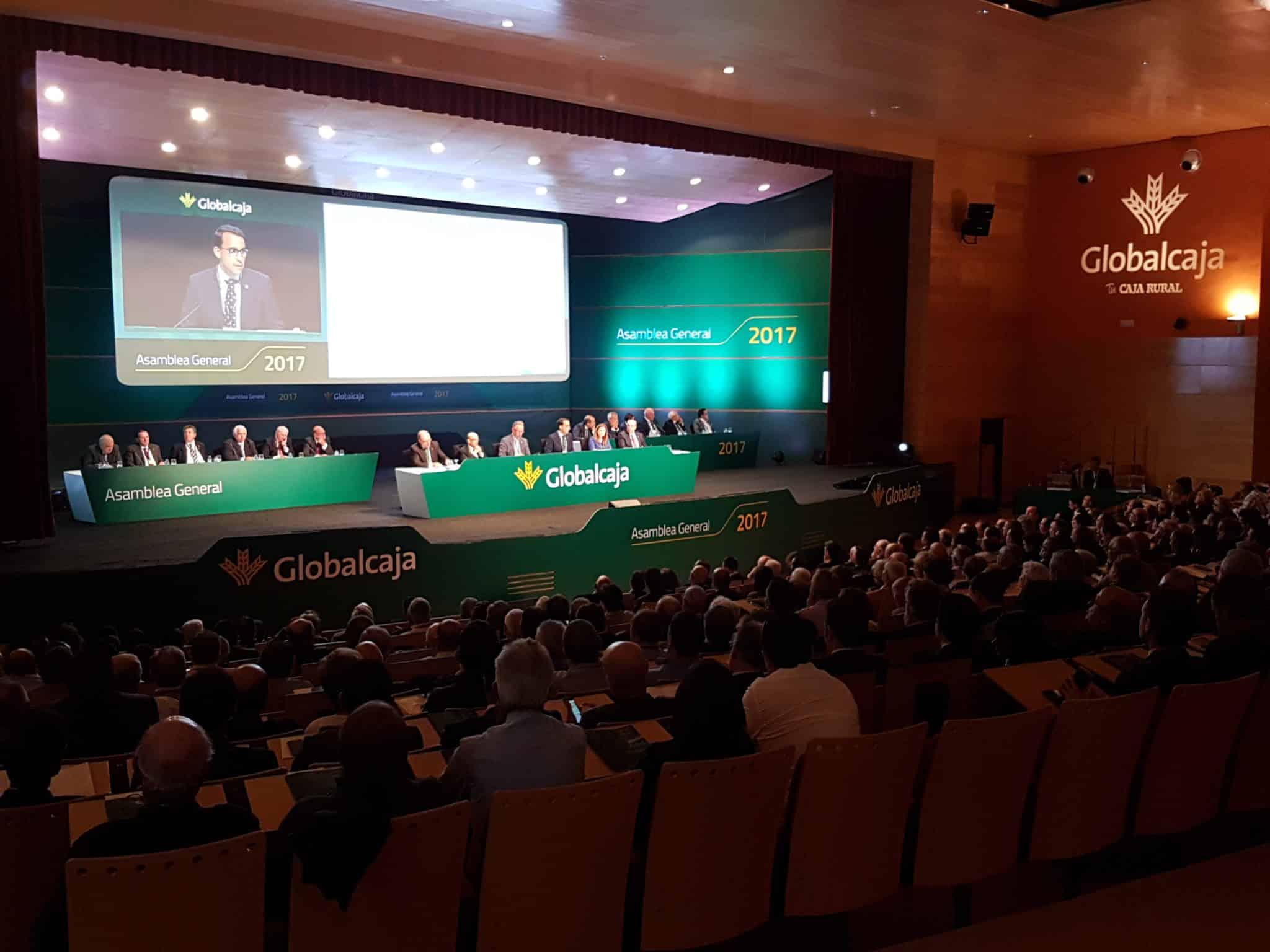 Asamblea General Globalcaja