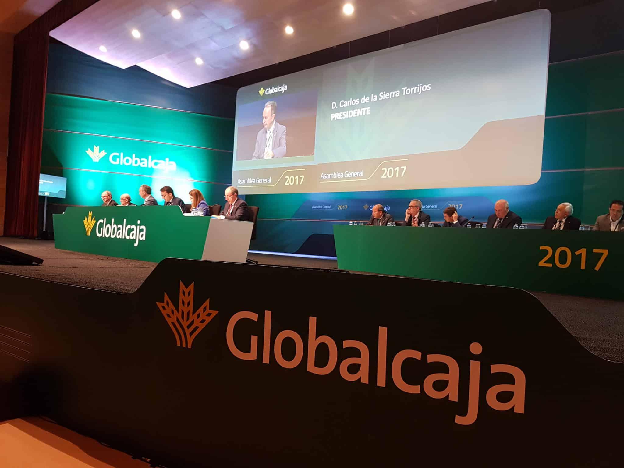 Presidente de Globalcaja en Asamblea General