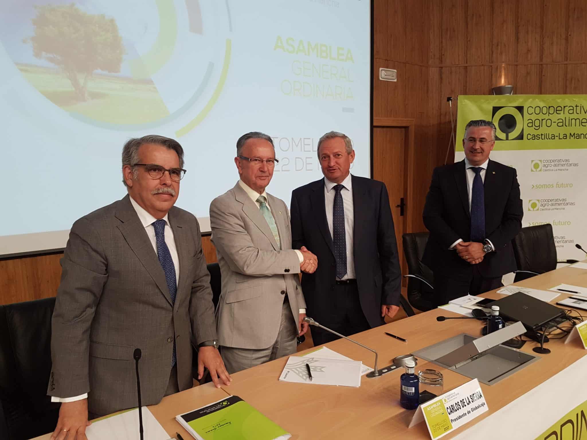 convenio Globalcaja Cooperativas Agro-alimentarias CLM