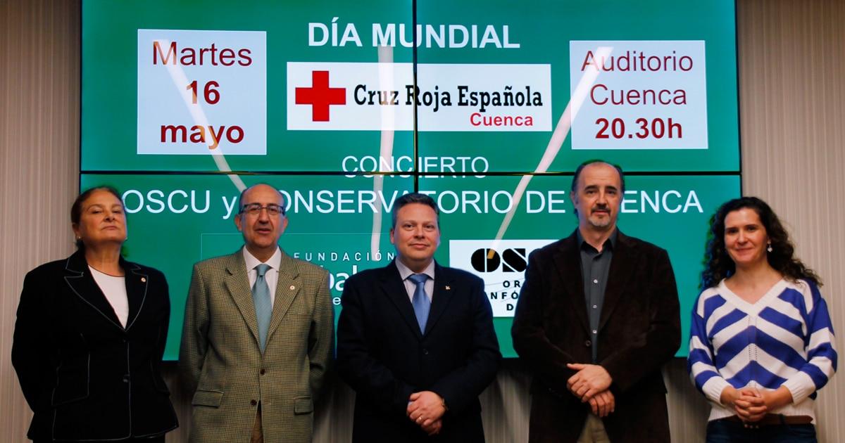 Globalcaja, con Cruz Roja de Cuenca en la celebración de su 'Día Mundial'