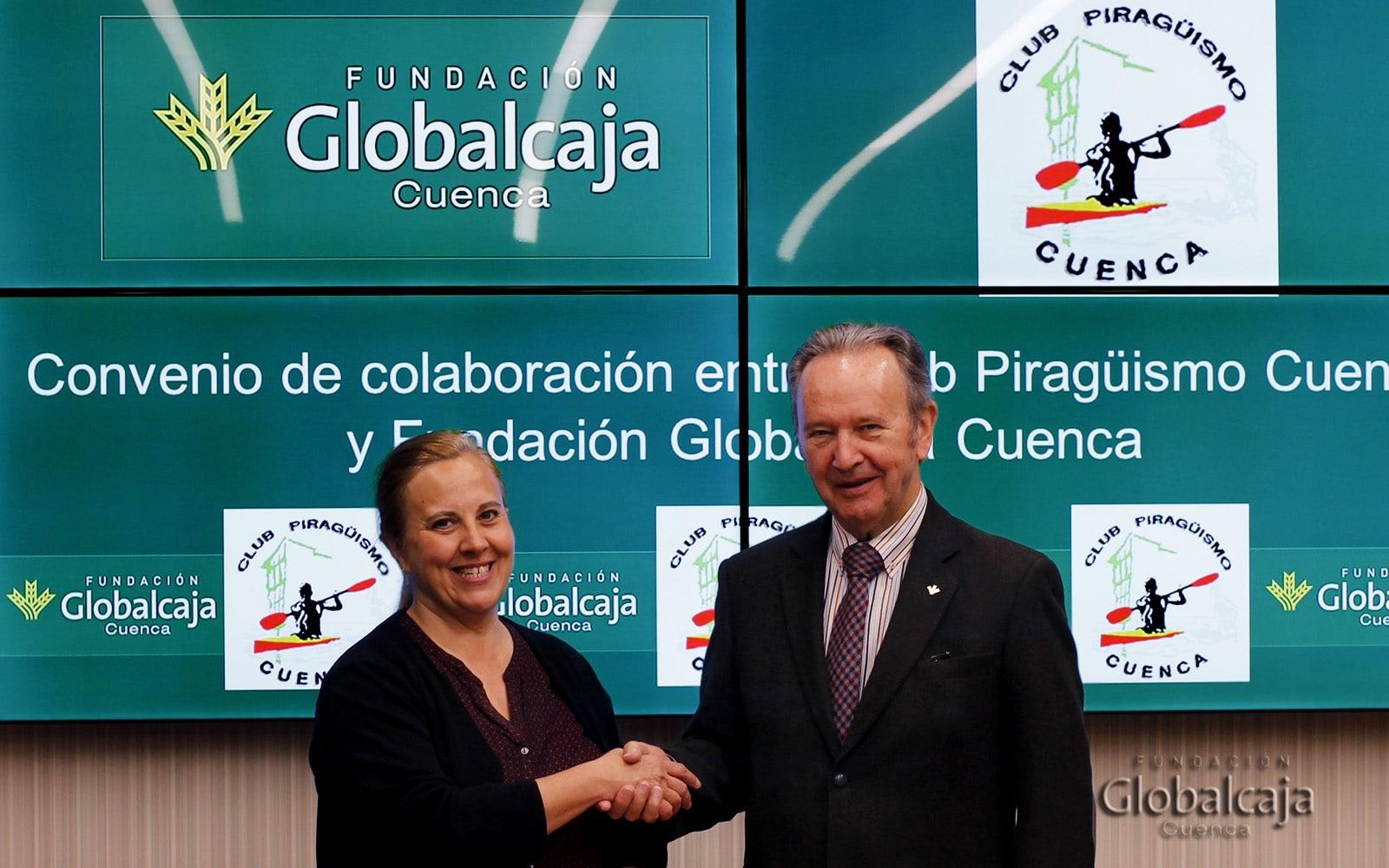 Nuevo apoyo al deporte de la Fundación Globalcaja Cuenca con la renovación de su colaboración con el Club Piragüismo Cuenca
