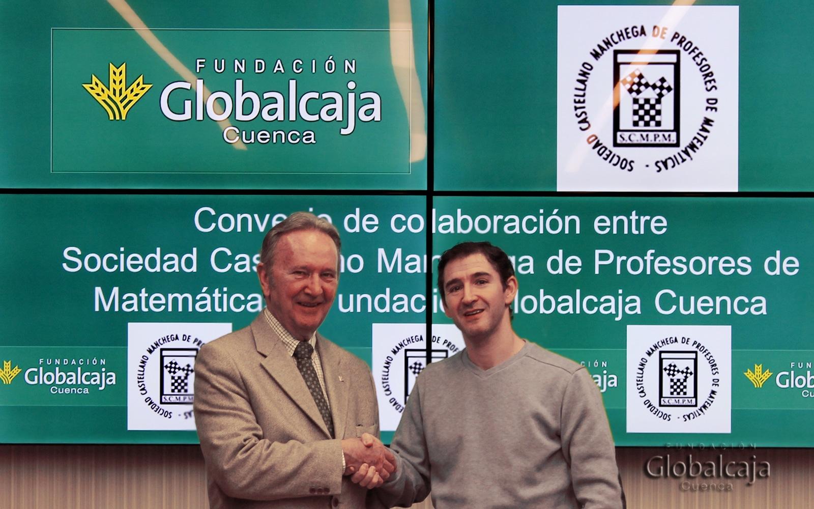 La Fundación Globalcaja Cuenca apoya a la Sociedad Castellano-Manchega de Profesores de Matemáticas