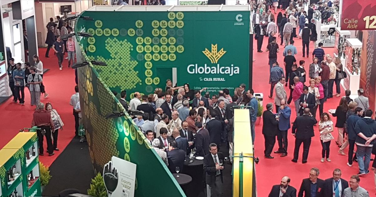 GRAN ÉXITO DE GLOBALCAJA EN FENAVIN 2017