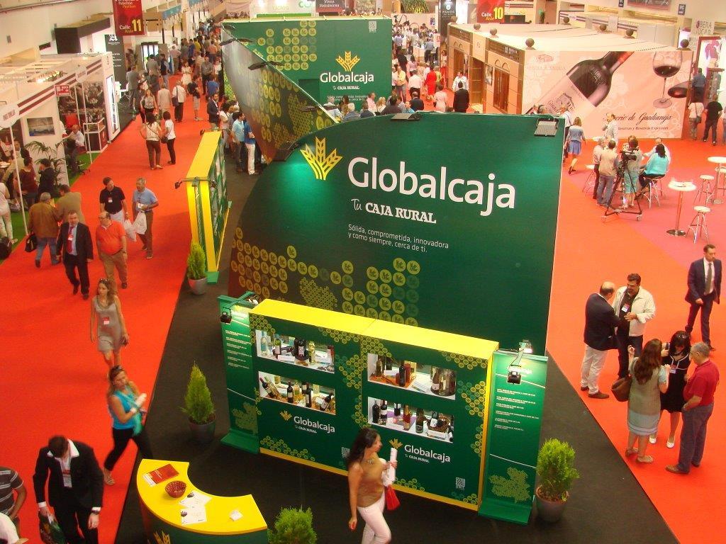 Globalcaja renueva su compromiso con Fenavin 2017