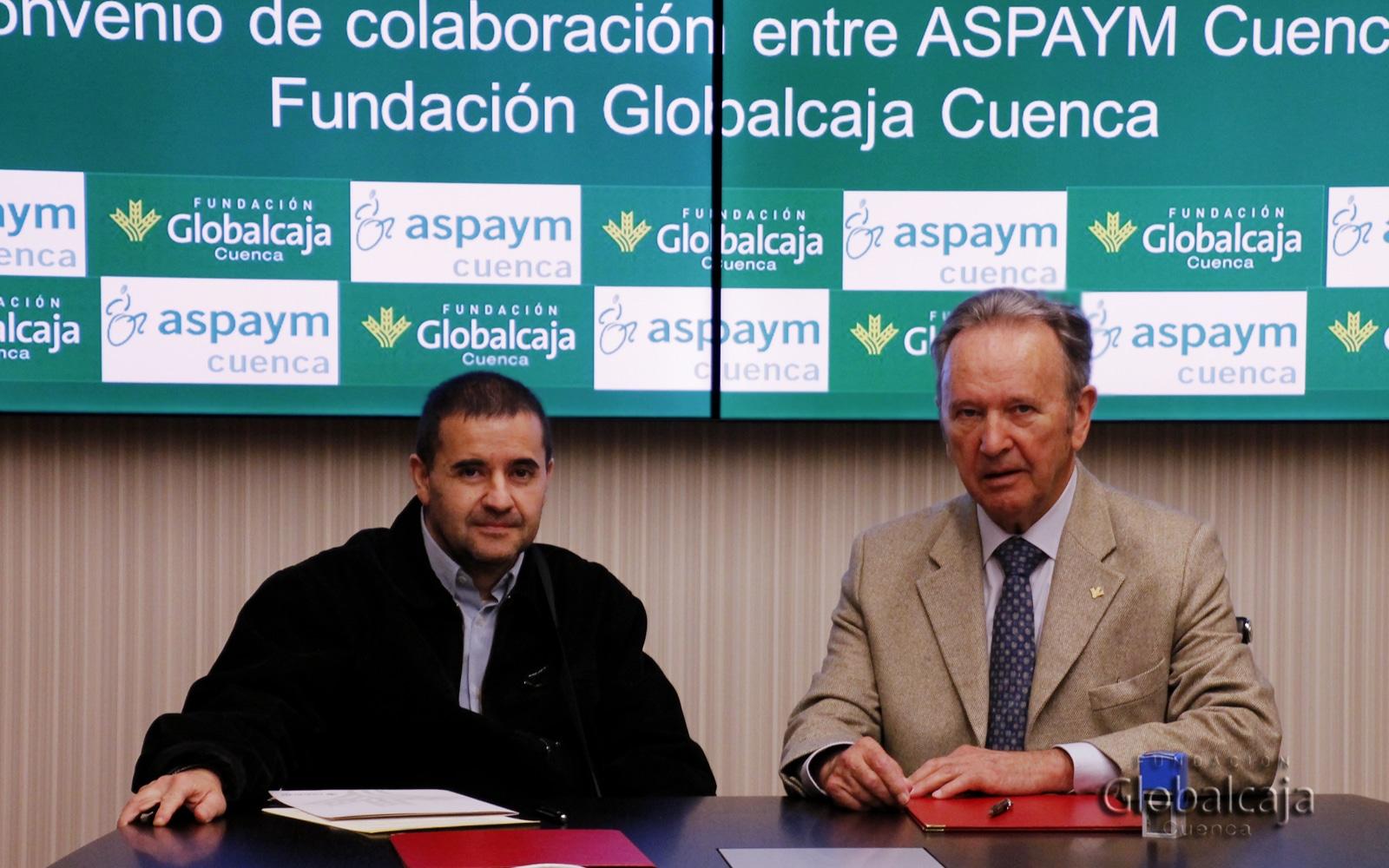 Renovado el convenio de la Fundación Globalcaja con ASPAYM Cuenca