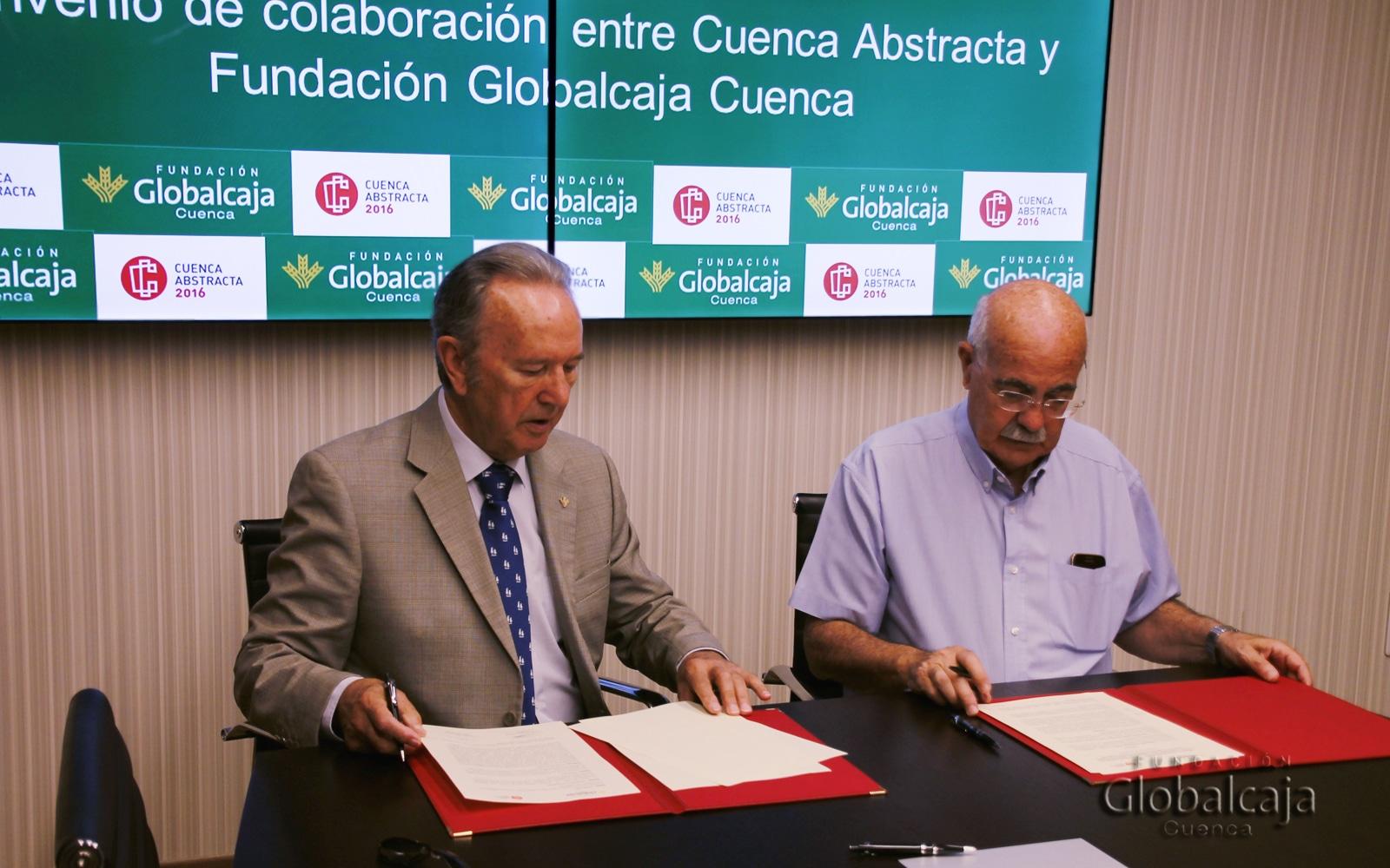 Cuenca Abstracta firma un convenio de colaboración con la Fundación Globalcaja-Cuenca