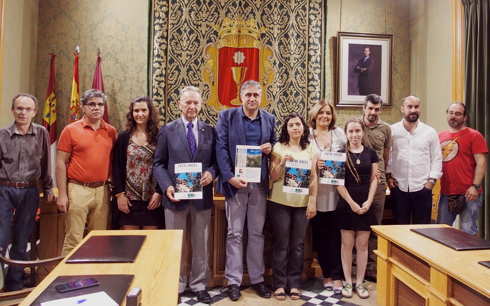 El estudio 'Entre Hoces' se presenta en el Ayuntamiento
