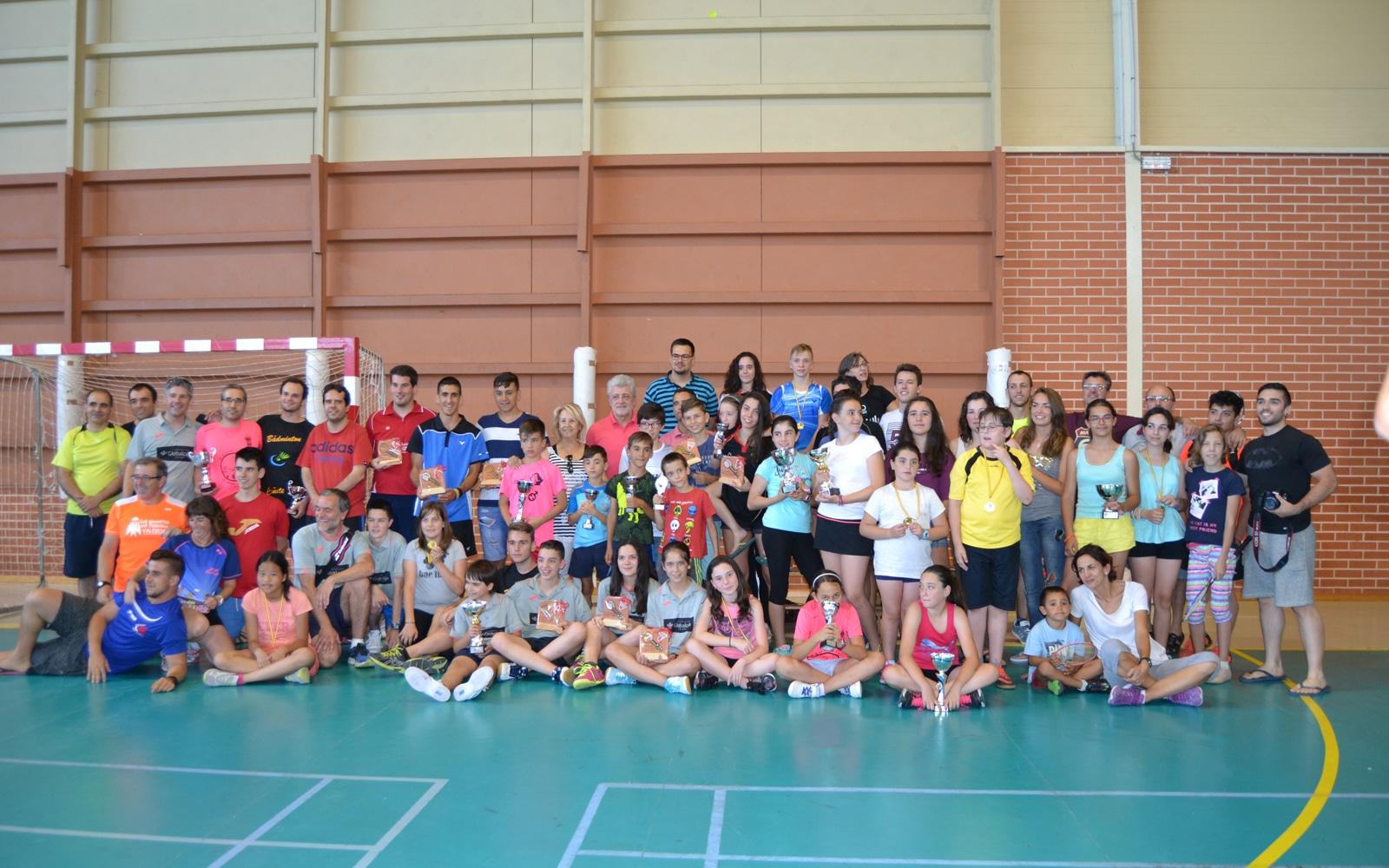 Bádminton Albatros celebró el XXI Memorial Samuel Ferrer, con el apoyo de la Fundación Globalcaja Cuenca