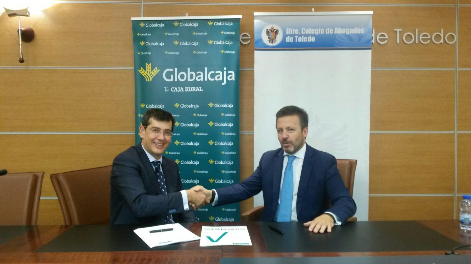 Convenio de Globalcaja con el Colegio de Abogados de Toledo