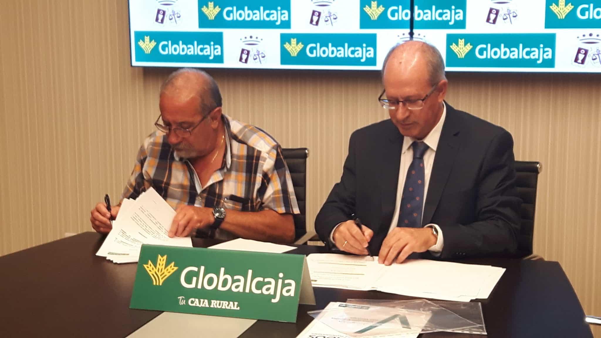 GLOBALCAJA FIRMA UN CONVENIO CON EL COLEGIO DE PROCURADORES DE CASTILLA-LA MANCHA
